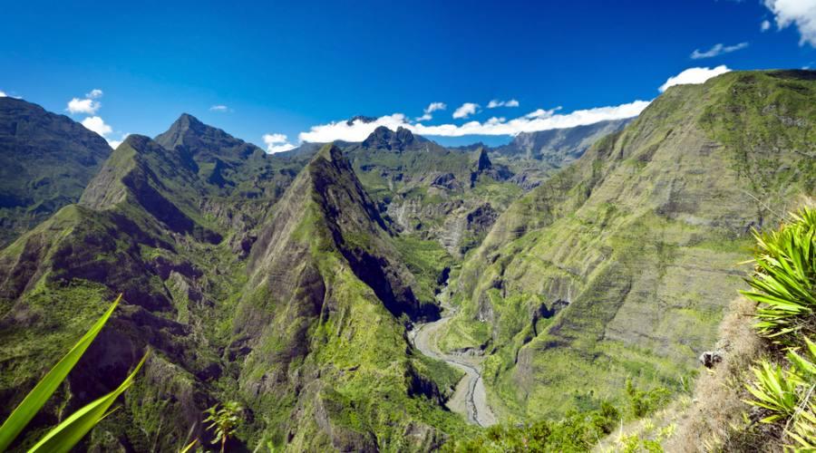 Reunion: le verdi montagne del Parco Nazionale