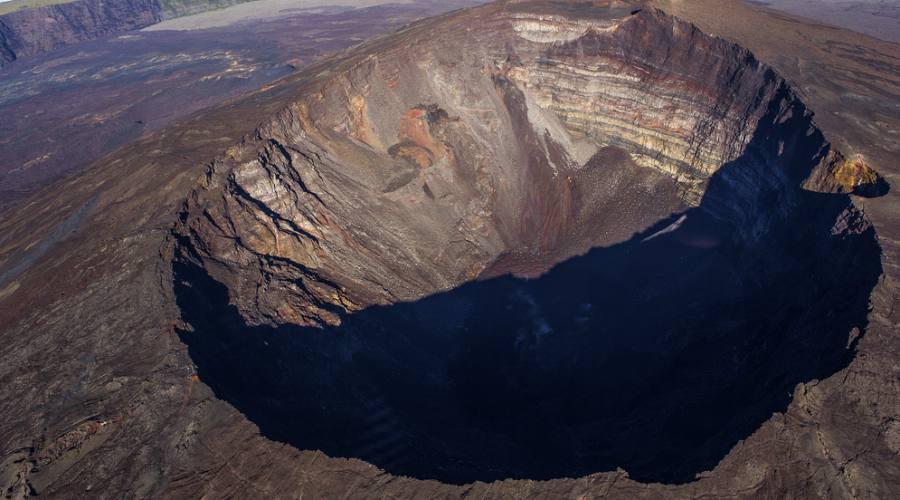 Reunion: il vulcano Piton de la Fournaise