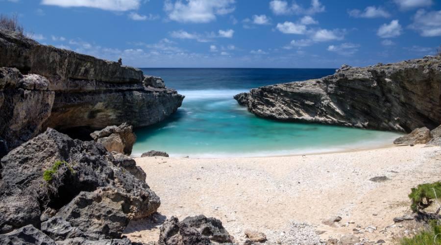 Rodrigues: la deserta spiaggia Bouteille