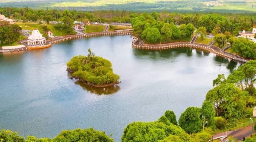 Mauritius: il lago sacro di Grand Bassin