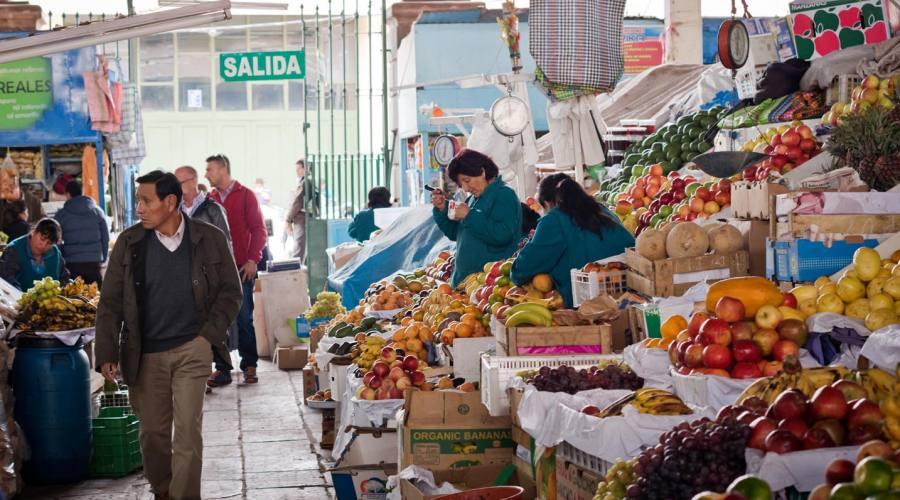 Mercato di Cusco