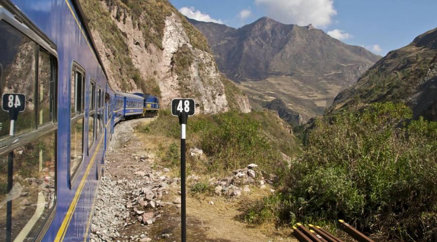 Il treno per Machu Picchu