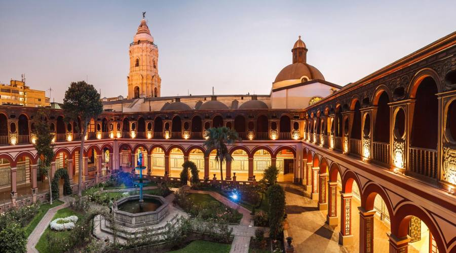 Lima, monastero di santo Domingo