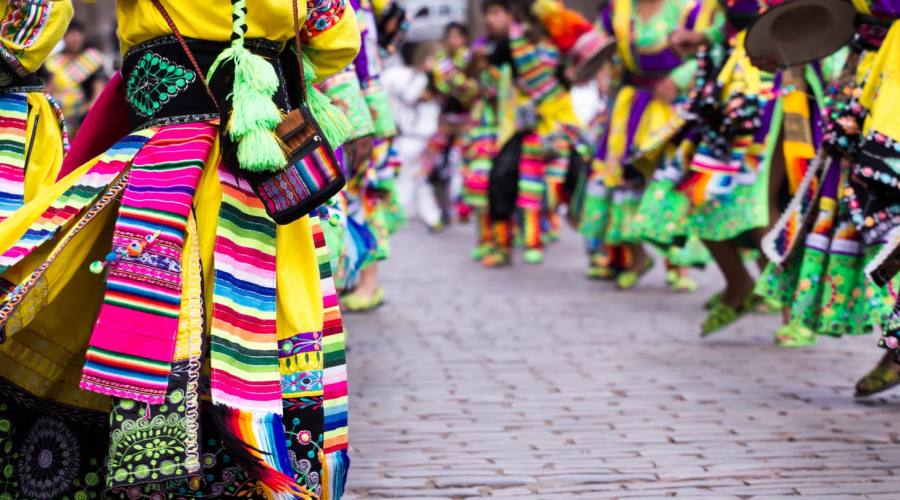 Danzatori a Cusco