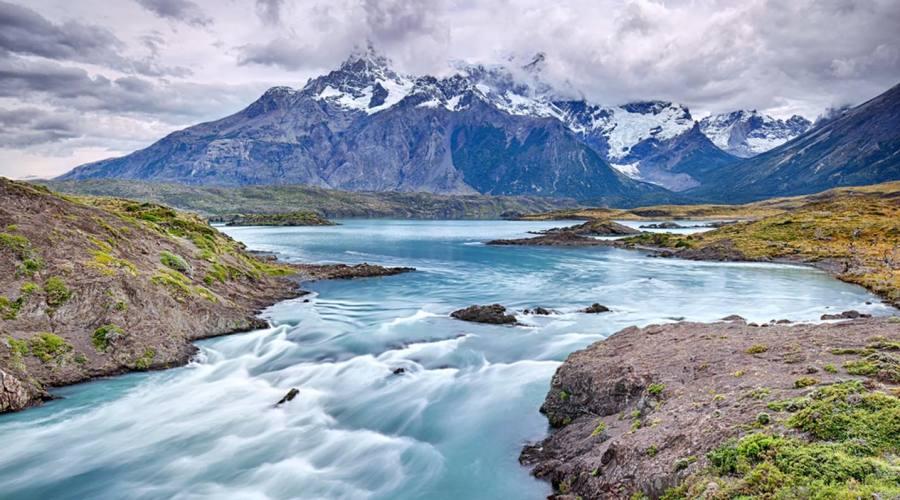 Rio Paine nel Parco delle Torri del Paine