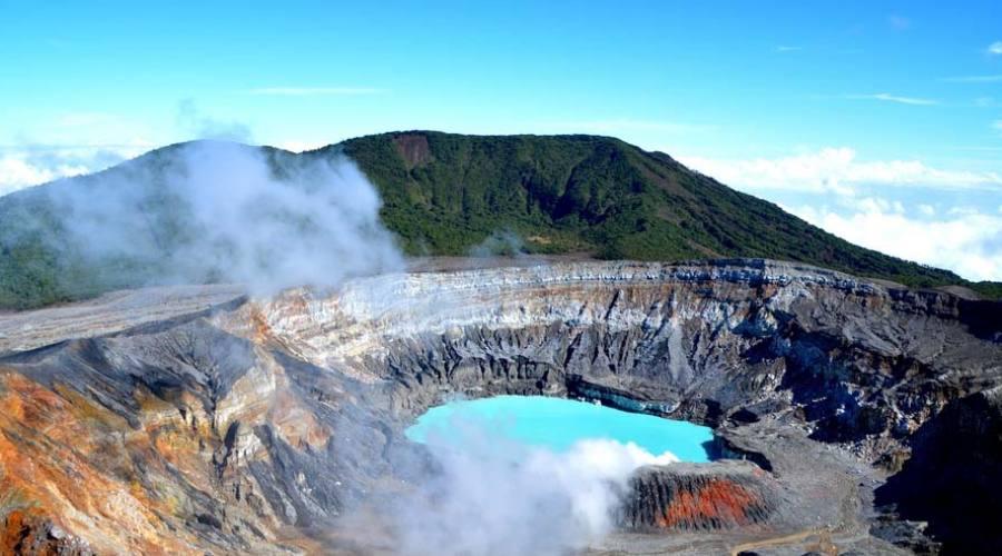 Il vulcano Poas