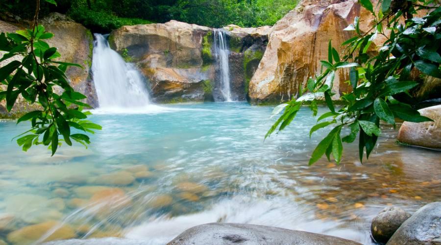 Cascata al Parco Rincon de la Vieja