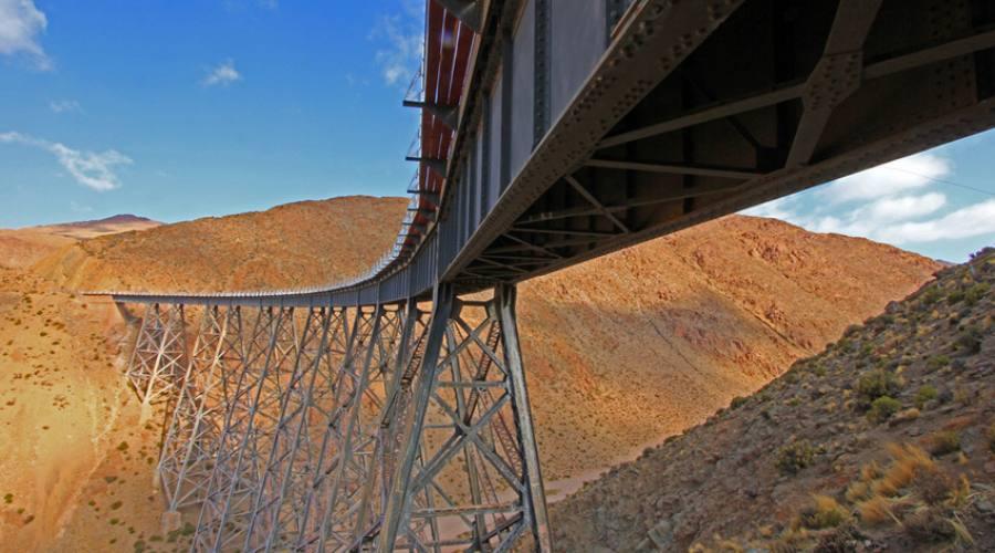 Lo spettacolare viadotto di Polvorilla