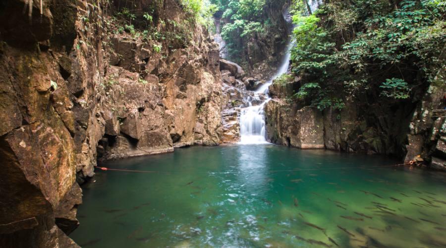 cascate di chanthaburi