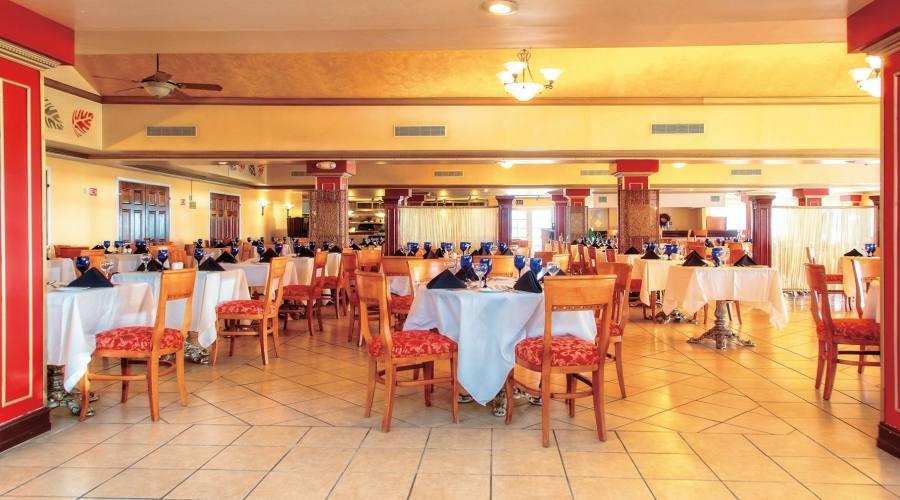 Il ristorante del Veraclub Antigua