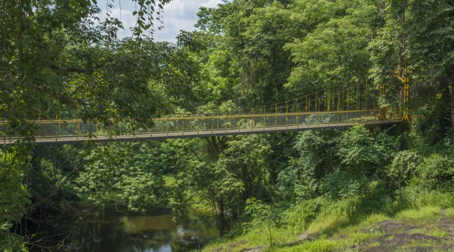 Ponte sospeso in Kerala
