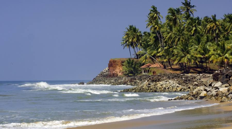 Spiaggia nel Kerala