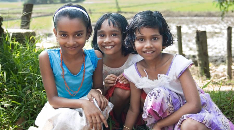 Bambini nel Kerala