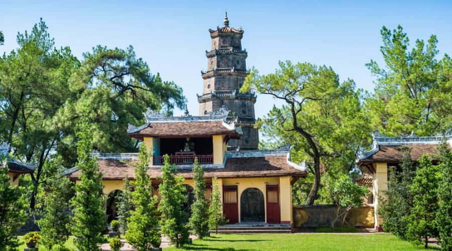 pagoda The Thien Mu a Hue