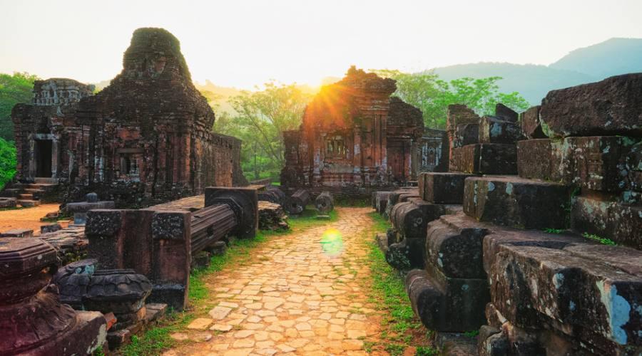 rovine tempio Hindu a My Son