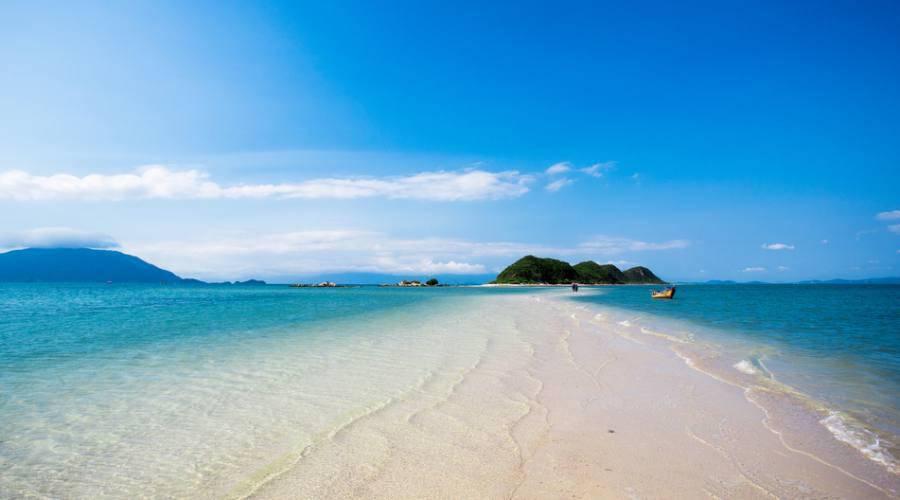 spiaggia a Nha Trang