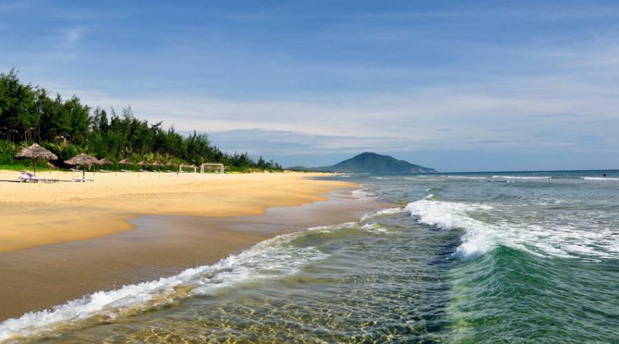 spiaggia di Lang Co a Hue