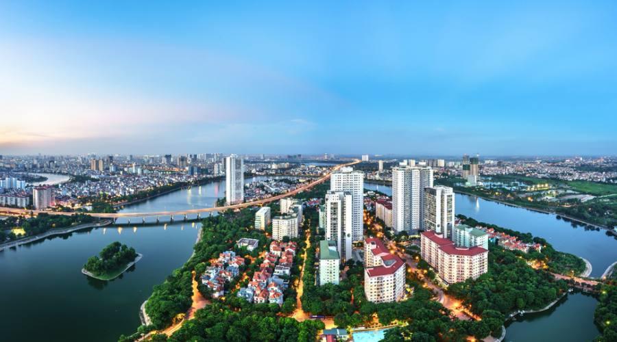 vista di Hanoi