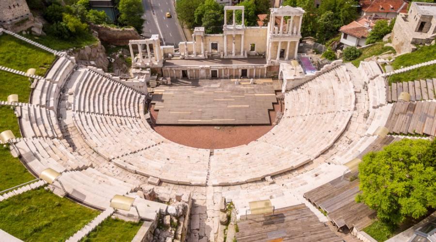 Plovdiv, il teatro romano