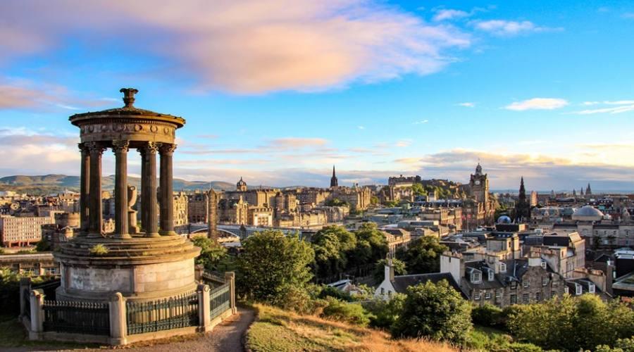 Panorama Edimburgo