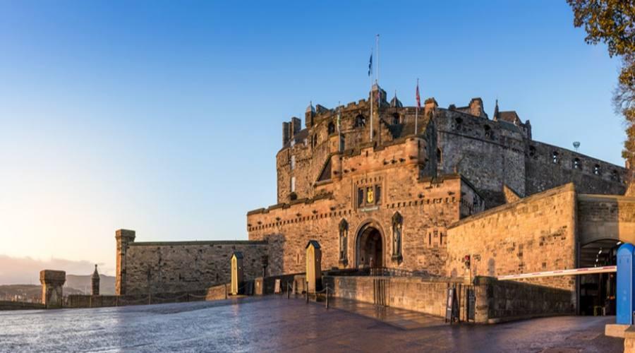 Entrata Castello di Edimburgo