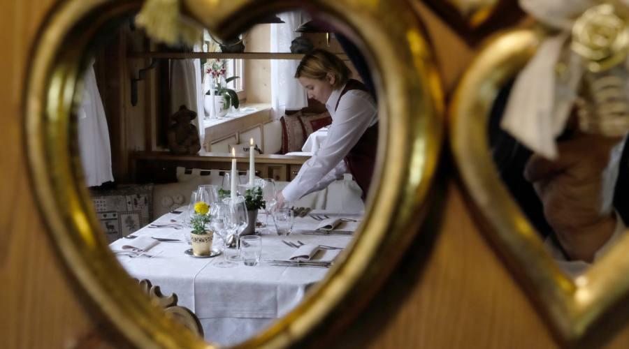 Il personale nel ristorante