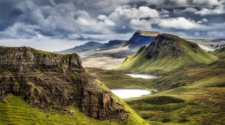 Paesaggio delle Highlands