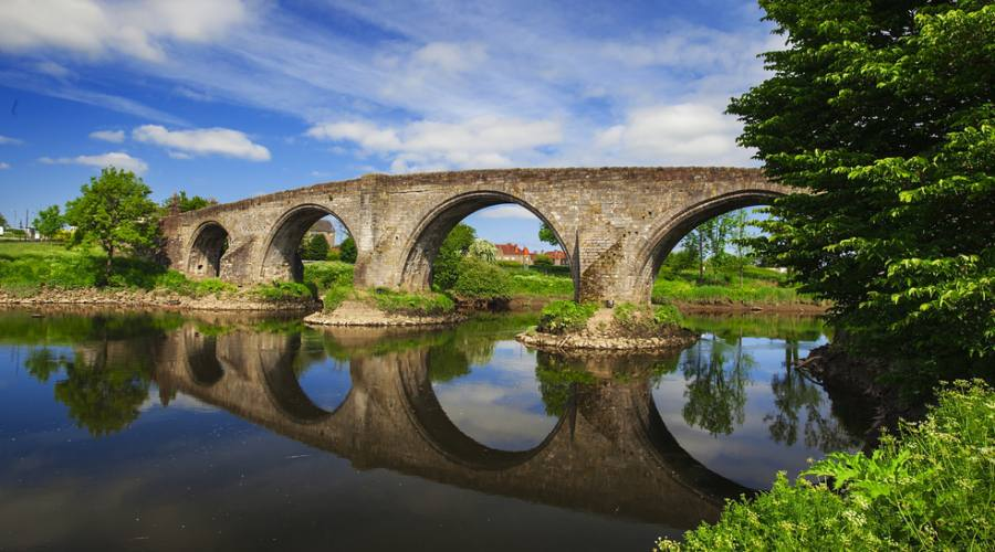 Ponte ad arco a Stirling