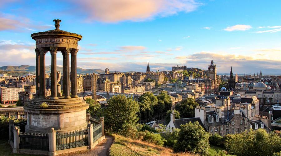 Edimburgo da Calton Hill
