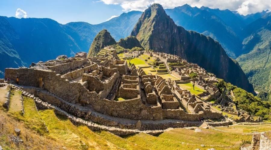 Vista di Machu Picchu