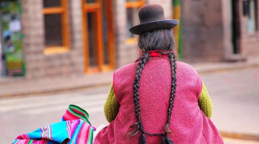 Lunghe trecce a Cusco