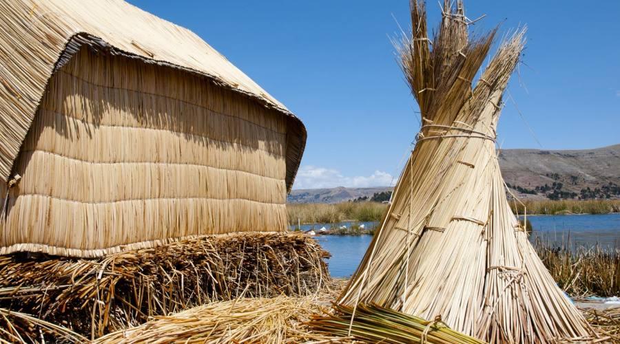 Lago Titicaca: le case galleggianti degli Uros