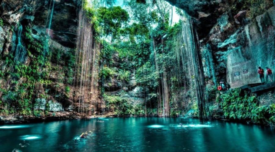 1° giorno: bagno in un Cenote