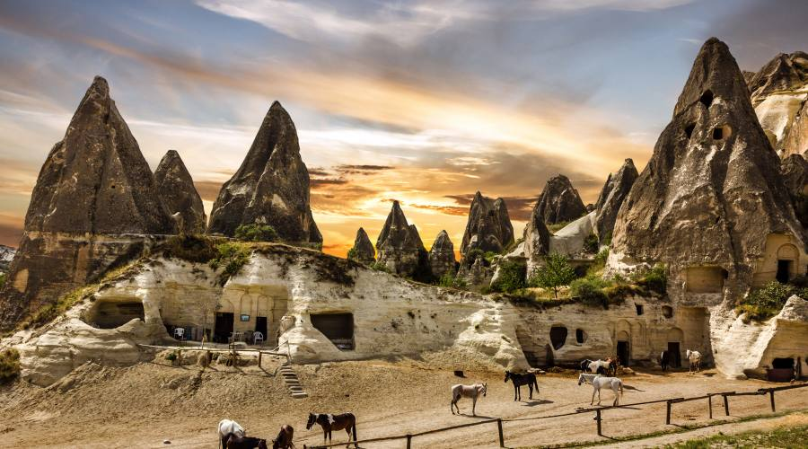 La terra lunare di Cappadocia