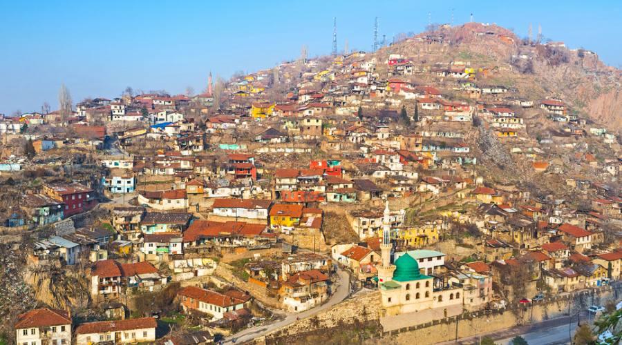 Zona storica di Ankara