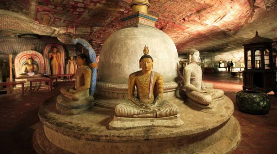 dambulla tempio