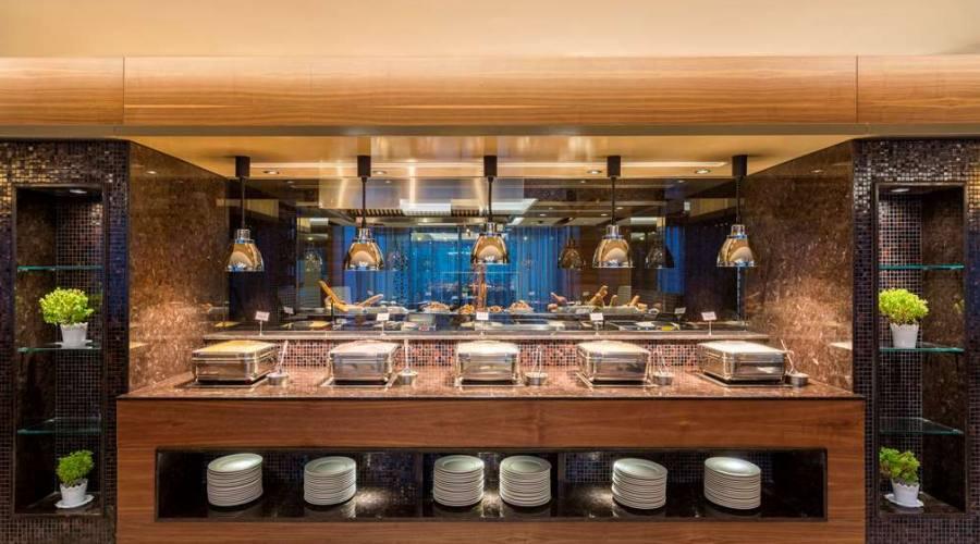 Zona Pranzo Hotel Golden Tulip 5 stelle