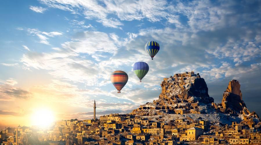Gita Giornagliera in mongolfiera Cappadocia