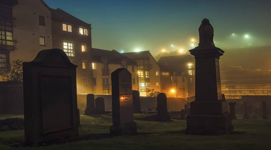 Tour dei Fantasmi Cimitero di Edimburgo