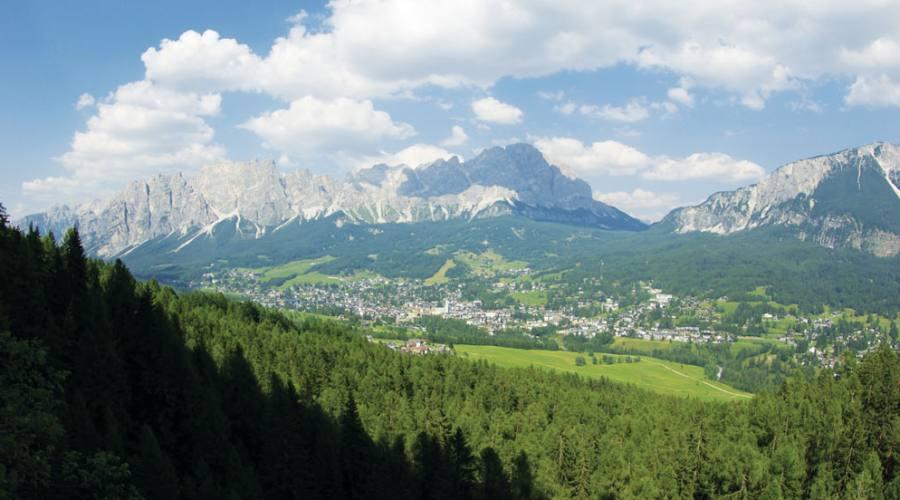 La valle di Cortina
