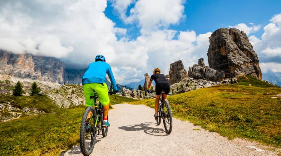 Cinque Torri in bici