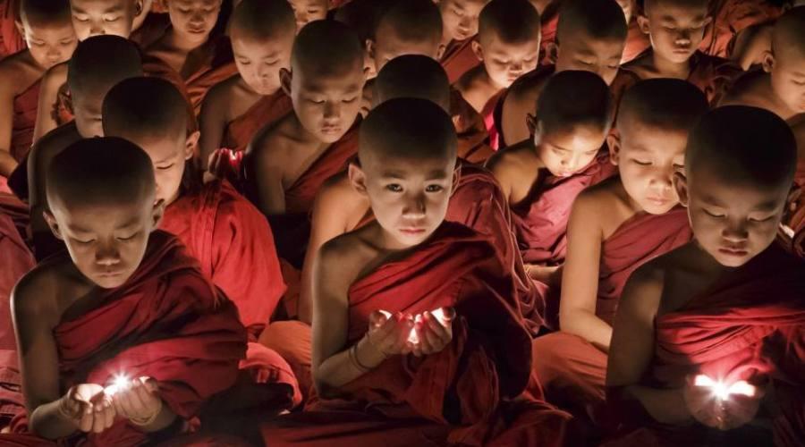 piccoli monaci buddhisti