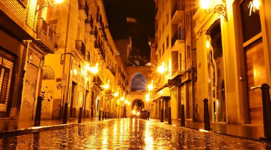 Valencia di notte