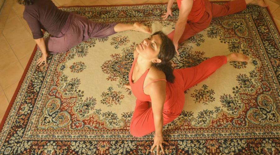 Maestra di yoga
