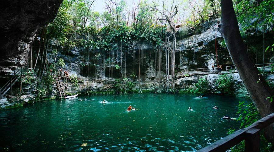 """2° giorno: Cenote """"X'Canche"""""""