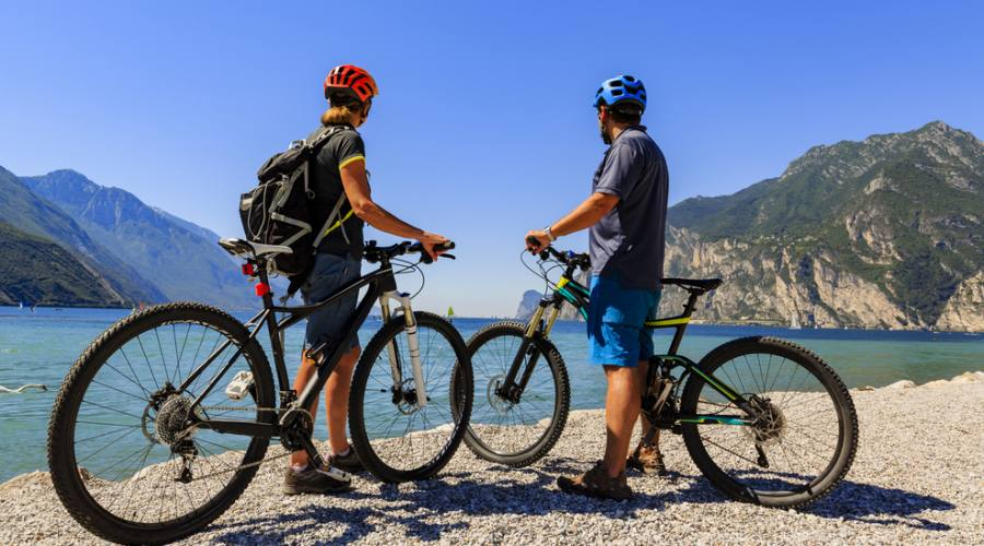 Mountain bike sul Lago di Garda