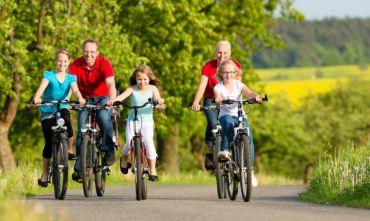Lago di Garda in bici per tutta la famiglia tra natura e avventura.
