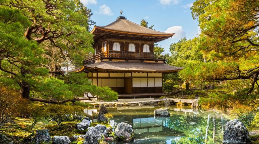 Il Padiglione d'Argento a Kyoto