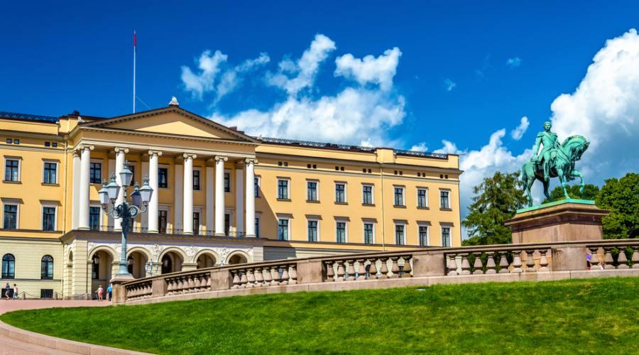 Oslo Il Palazzo Reale
