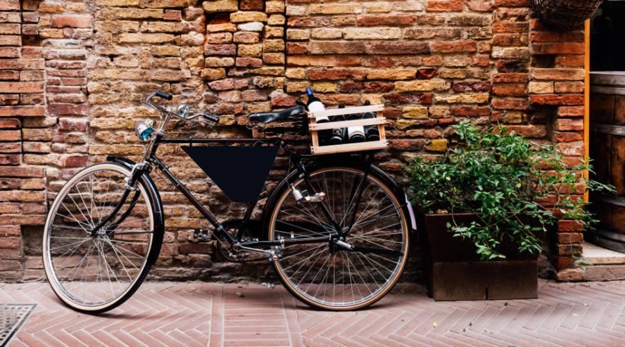 Vecchia strada a San Gimignano